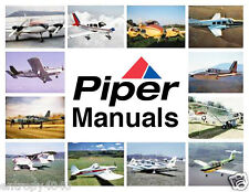 Piper PA28-181 Archer II & III Illustrated Parts Service Maintenance Manuals CD