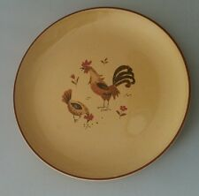 """Vintage Harmony House Honey Hen 7"""" Salad Plate (s) Chicken Rooster Design"""