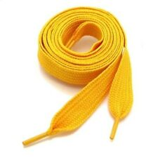 "THICK FLAT FAT SHOE LACES  3/4"" Wide, 52"" Long, Ship Fast W/Tracking, USA Seller"