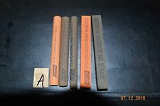 NEW Lot of 5 Inch Machinist Stones Toolmaker Norton //4 LOTS OF 5 //LOWER PRICE