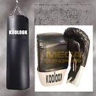 SACCO BOXE /KIT BASIC SACCO PIENO NERO KG 30 ULTRA STRONG + GUANTINI COLORE NERO