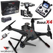 Walkera Carbon Scout X4 FPV DRONE QUADCOPTER pour carte gps 3d, transmetteur DEVOF12E voiture Gimbal sans balai