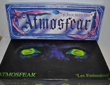 lot of 2 ATMOSFEAR ( Les Emissaires ) FRENCH VHS HORROR BOARD GAME Nightmare -rj