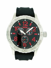 I by Invicta IBI41705-004 Men's Round Analog Day Date Red Black Watch