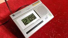 OREGON SCIENTIFIC WR-3000 WEATHER RADIO ALL HAZARDS EMERGENCY ALERT NOAA TESTED