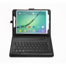 Bluetooth Keyboard + Leather Case Cover For Samsung Galaxy Tab S2 8.0 T710 T715