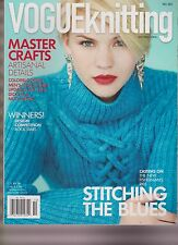 VOGUE KNITTING INTERNATIONAL MAGAZINE FALL 2013.