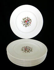 "Set of 7 Wedgwood Edme Conway Pattern 9.25"" Salad/Side Plates"
