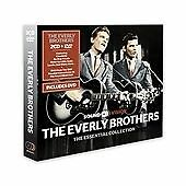 The Everly Brothers - Essential Collection 3 Disc set  ( 2 CDS +DVD, 2013)
