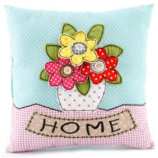 Country Fabric HOME  Design Flowers Cushion Cover & Inner