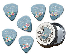 Nice Cup Of Tea Martin Wiscombe 6 X Guitar Picks In Tin Vintage Retro