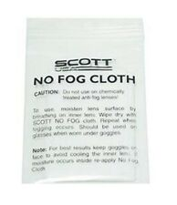 SCOTT No Fog Cloth for Googles Dirt Bike Dirtbike Motocross Moto Cross Goggle