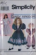 Daisy Kingdom Dress Sewing Pattern S0657 Size 3-5