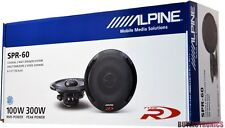 "Alpine SPR-60 6.5"" Car Speakers / 6-1/2"" Car Audio Speaker Type R Series SPR60"