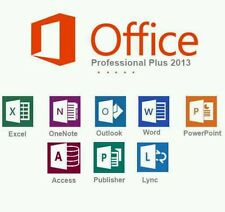Office Professional Plus 2013- W/scrap, Genuine, Lifetime Key
