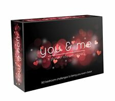 You and me BOARD GAME for HOT FUN COUPLE ROMANTIC GIFT FACTORY SEALED