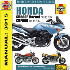 Honda CB600 Hornet CBF600 1998-2006 Haynes Manual 3915 NEW