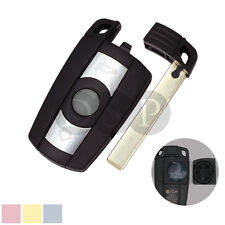 Replacement Key Shell + Blank fit for BMW 1 3 5 6 7 Series X5 6 Smart Remote Key