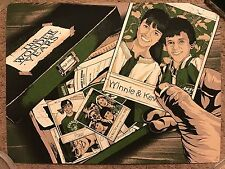 The Wonder Years Anthony Petrie Mondo Art Print Poster Tv Show Fred Savage Rare!