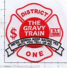 Illinois - Chicago District 1 IL Fire Dept Patch - Gravy Train