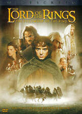 THE LORD OF THE RINGS-FELLOWSHIP OF THE RING/2 DISCDVD/BUY ANY 4 ITEMS SHIP FREE