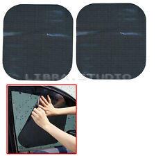 New 2× Side Window Protection Sun Shade Static Cling Shield Visor For Auto Car