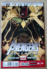 AVENGERS ASSEMBLE ANNUAL #1 FIRST PRINT MARVEL COMICS (2015) VISION