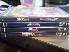 (4) Spy Kids Childrens DVD Lot: Spy Kids 1, 2, 3-D & 4 (NEW)
