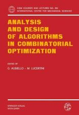 Analysis and Design of Algorithms in Combinatorial Optimization 266 by...