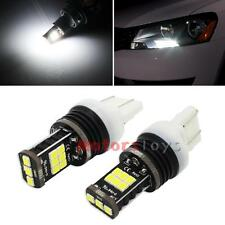 Error Free 10W Xenon White LED Bulbs for B7 Volkswagen Passat Daytime DRL Lights