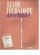 R.T.A. REVUE TECHNIQUE AUTOMOBILE N° 164 12/ 1959 CAMION UNIC VOITURETTE JET