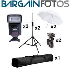 Kit Strobist básico X 2 unidades para estudio-ENVIO GRATIS