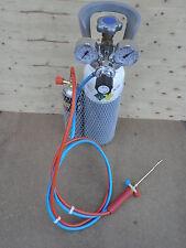 Kit saldatura autogena  riduttori    cannello  tubi  bombola ossigeno e gas