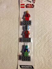 lego star wars magnet set  palpatine, gunray, farr NEW!
