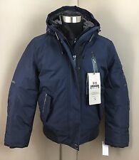 NEW Point Zero Men's Blue Heavy Winter Ski COAT JACKET (Size Medium) NWT $325