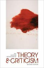 The Norton Anthology of Theory and Criticism (2010, Hardcover)