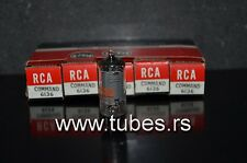 Platinum matched pair 6136 (6AU6WA EF94) RCA NOS Free Airmail Shipping from EU