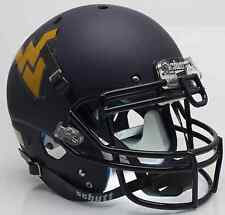 WEST VIRGINIA MOUNTAINEERS Schutt XP AUTHENTIC Football Helmet WVU (MATTE NAVY)