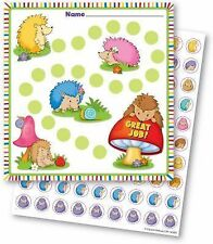 Happy Hedgehogs Mini Incentive Charts (2015, Print, Other)