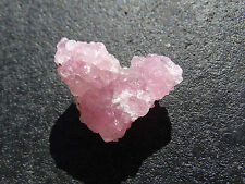 ROSE QUARTZ CRYSTAL CLUSTER 2~ GREAT COLOUR AND ENERGY~ CRYSTALLISED ROSE QTZ