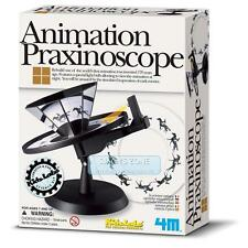 4M KIDZ LABS Animation On Praxinoscope Science Experiment Toy DIY Game