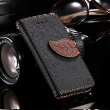 Popular Fashion Leather Card Flip Wallet Case Stand Cover Pouch For Samsung New