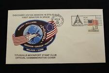 SPACE COVER 1985 SLOGAN CANCEL STS-51-D SHUTTLE DISCOVERY 1ST SENATOR SPACE (32)