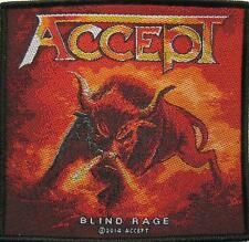 "ACCEPT AUFNÄHER / PATCH # 5 ""BLIND RAGE"""