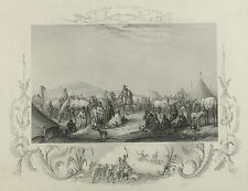 Ibraham Pascha's Lager. A. H. Payne, um 1840