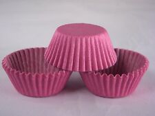 48 Mini Orchid Purple Greaseproof Paper Cupcake Liners Baking Cups