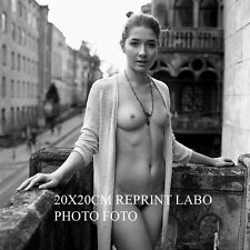 2 X NU NUDE REPRINT GLOSSY PHOTO BRILLANT FOTO 20 X 20 CM FROM ORIGINAL NEG -8-