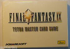 Final FANTASY IX TETRA MASTER CARD GAME OVP SEALED tedesco