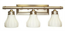 Antique Brass 3 Light Bath Wall Fixture