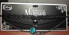 Disney The Little Mermaid  Ariel Tattoo Layer Choker Pendant Necklace NWT